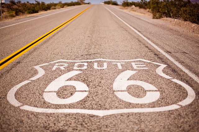 From https://pixabay.com/en/route-66-usa-holiday-road-trip-1642007/